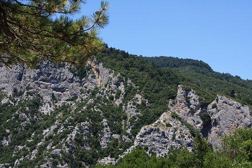 Mountains, Olimp, Greece, Landscape, Summer, View