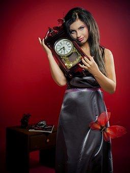 Girl, Woman, Time, Time Travel, Wonderland, Red, Dark
