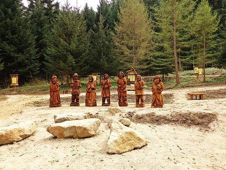 Sculpture, Wood, The Figurine, Handicraft, Wood Carving