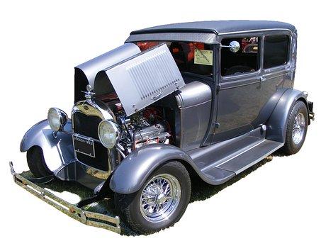 Oldtimer, Car, Ford, Coupe, Model A, 1929, Vintage
