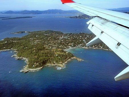 Antibes, Aerial, Alpes-maritimes, Mediterranean, Sea