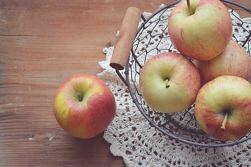 Apple, Basket, Fruit, Healthy, Food, Fruit Basket