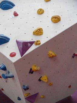 Bouldering, Climbing Hall, Climbing Wall, Climb
