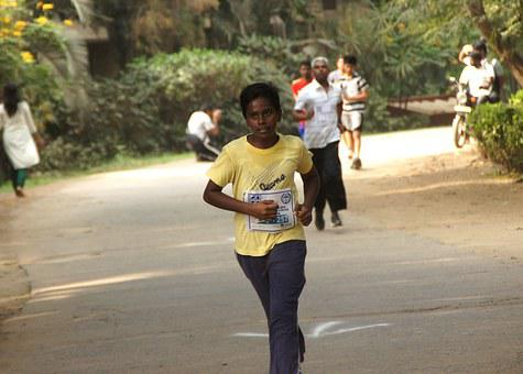 Sport, Running, Marathon, Boy, Young, Teenager, Youth
