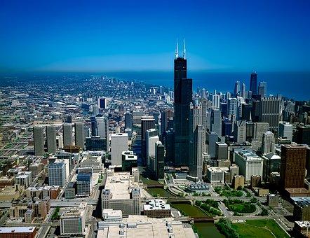 Chicago, Illinois, Architecture, Building, Downtown