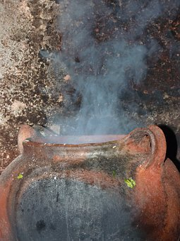 Cauldron, Cooking Pot, Steam, Witchcraft, Broth, Cook