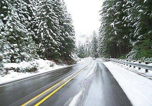 Driving, Winter, Road, Travel, Treacherous, Drive, Cold