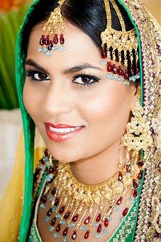 Woman Smiling, Pakistan, Indian, Culture, Portrait