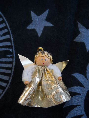 Angel, Little Angel, Guardian Angel, Christmas, Sky