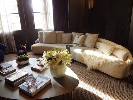 Sofa, Living Room, Decoration, House Color 2016