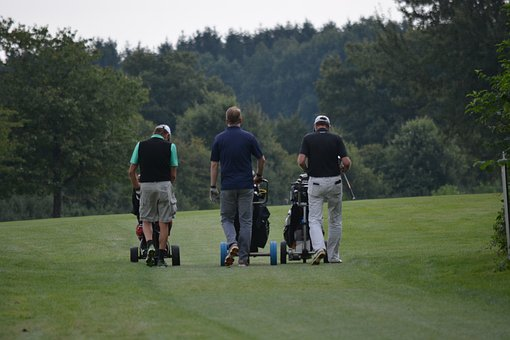 Golf, Jersbek, Mecklenburg, Men, Sport, After Work