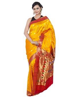Wedding Saree, Paithani Saree, Paithani Silk