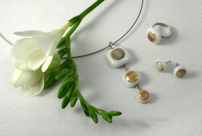 Glass, Jewelry, Jewel, Fused Glass, Fashion, Pendant