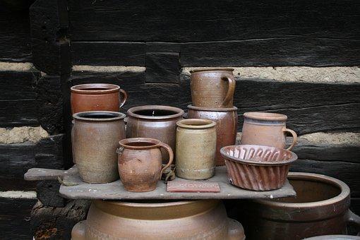 Pottery, Pots, Ceramic, Sound, Hand Labor, Vessels