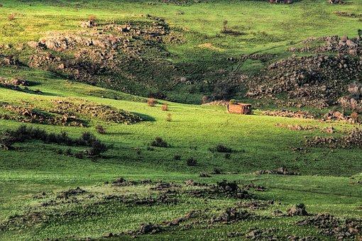 Landscape, Valley, Scenery, Rocky, Golden Hour