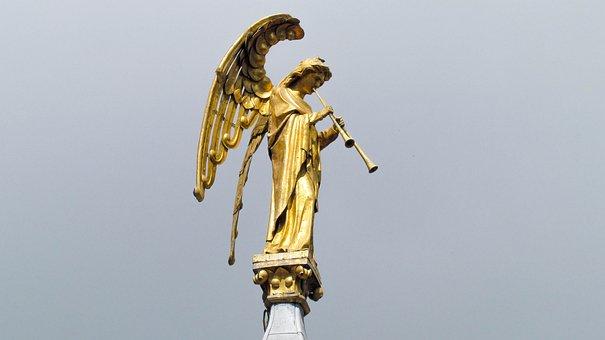 Angels, Art, Religion, Sacre Coeur, Catholic Church