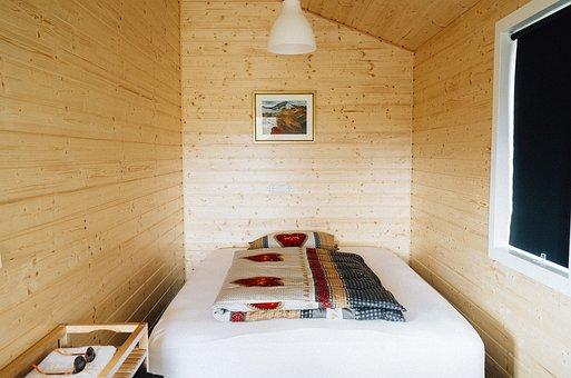Cabin, Bedroom, Sleep, Sleeping, Rest, Relax, Interior