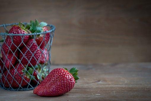 Strawberry, Red, Ripe, Frisch, Harvest, Soft Fruit