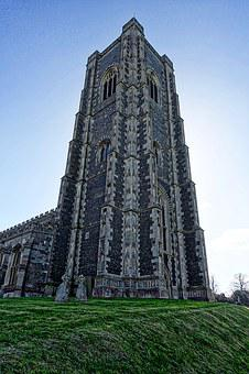 Cathedral, Stoke-by-nayland, Spire, Christian