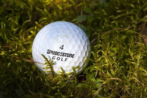 Lost Ball, Golf, Moss, Tale, Bridgestone Golf 4