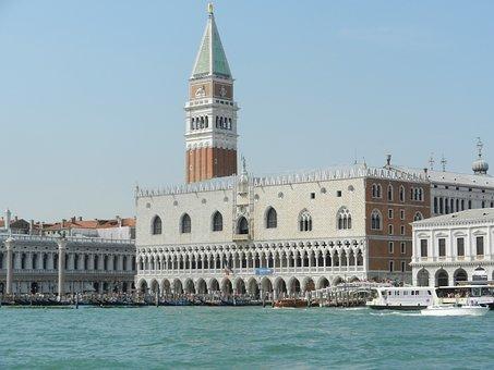 Venice, Venezia, Canale Grande, Water, Boats