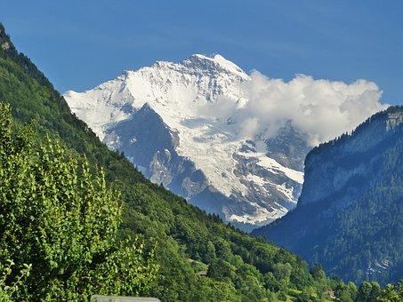 Virgin, Vision, Bernese Oberland, Mountains, Landscape