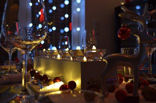 Christmas Dinner, Christmas, Xmas, Christmas Table