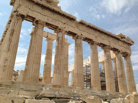 Parthenon, Greece, Acropolis, Architecture, Ancient