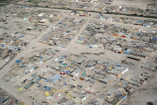 Peru, Population, Shanties, America, Lime