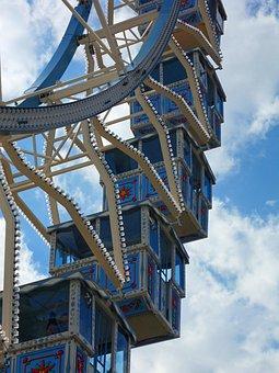 Ferris Wheel, Amusement Park, Leisure, Park, Attraction
