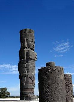 Atlantes, Atlanteans Tula, Tula, Archeological Site