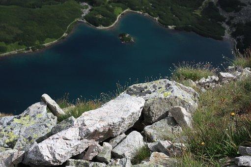 Polish Tatras, The Stones, Black Pond Tracked, View