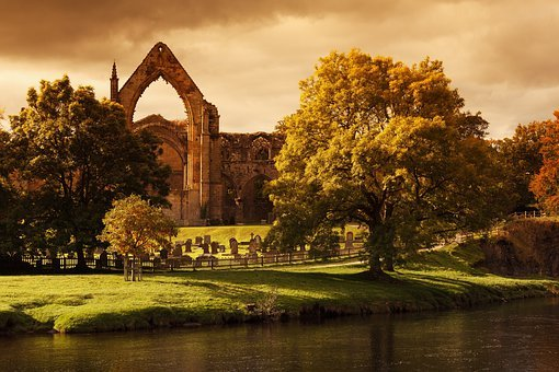 Bolton Abbey, Ancient, Architecture, Cemetery