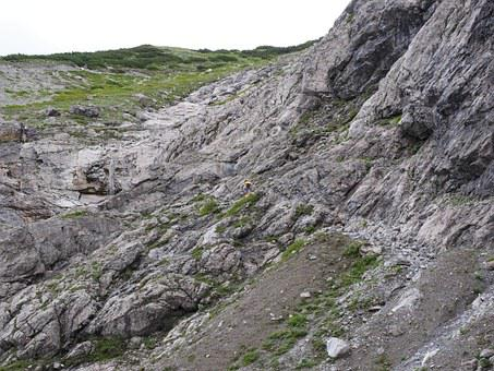 Mountain Hike, Hike, Sidewalk, Away, Path, Brandnertal