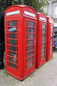 Booth, Box, Britain, British, Classic, Communication