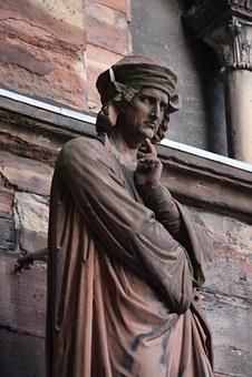 Erwin Von Steinbach, Cathedral, Strasbourg, Statue