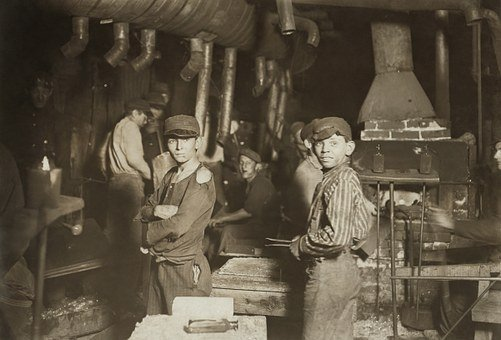 Child Labour, Children, Industry, Work, Glass Factory