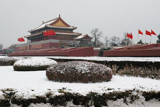 China, Palast, Architecture, Winter, Palace, Asia