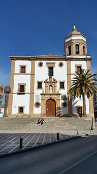 Ronda, Ronda Church, Church Of Our Lady Of Mercy Round