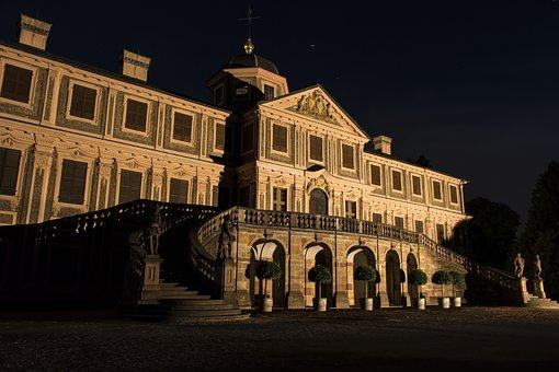 Castle, Favorite, Förch, Comedy, Night, Lights Game