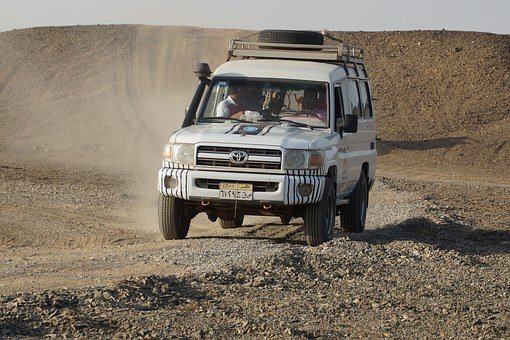 Desert, Off-road Car, Jeep, Desert Safari, Egypt