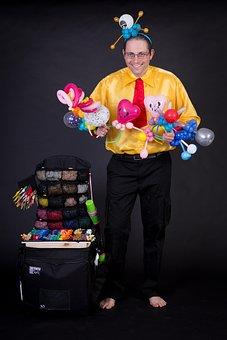 Balloons, Balloon Artist, Entertainment, Balloon Case