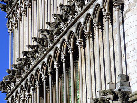 Church, Our Lady Of Dijon, Gargoyles
