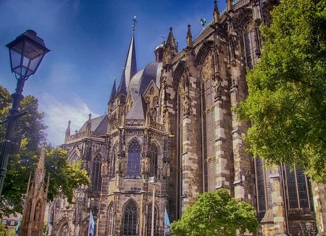 Aachen, Germany, Church Of Our Lady, Building