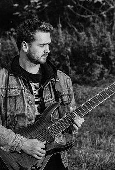 Young Man, Guitarist, Man, Music, Guitar, Young, Male