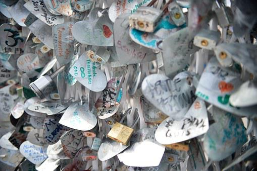 Notes, Love, Lockets, Romance, Messages, Paper, Heart