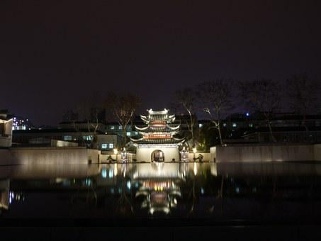Water Features, Night View, Historical Sites