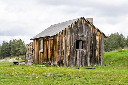 Log Cabin, Rustic, Mountains, Nature, House, Log