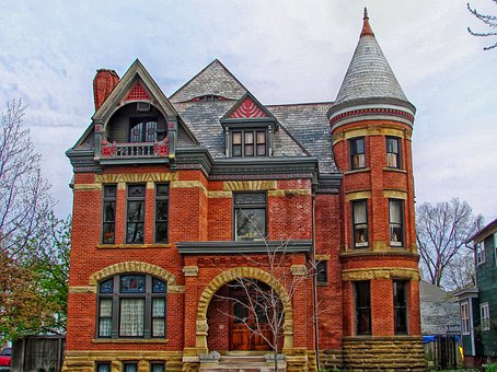 Peters House, Fort Wayne, Indiana, Architecture