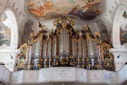 Lindau, Münster, Lake Constance, Organ